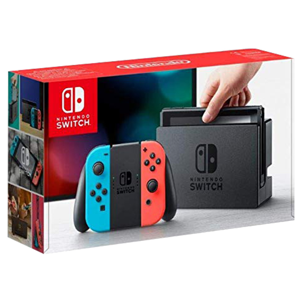Nintendo Switch Grey Joy Con Console With 1 Game And Accessory - HWSW-427061