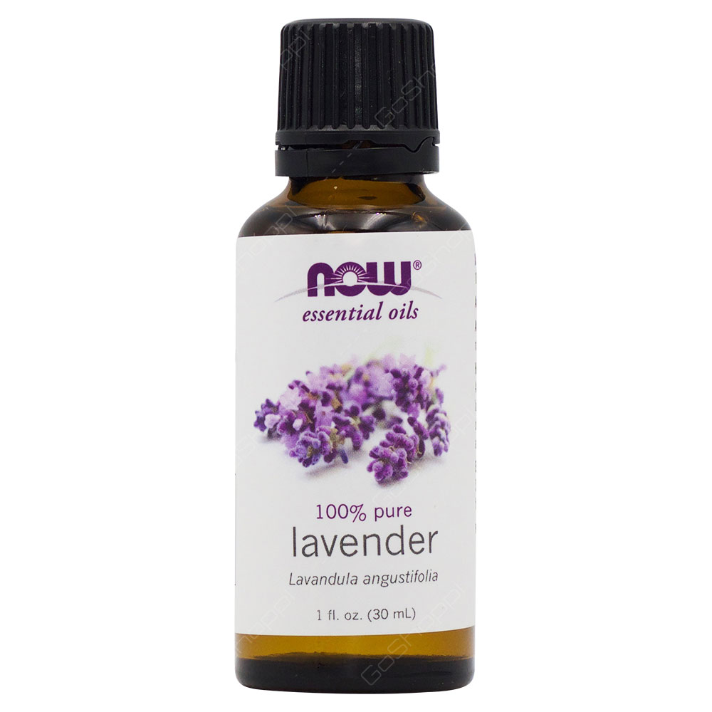 Now Essential Oils 100% Pure Lavender 30ml