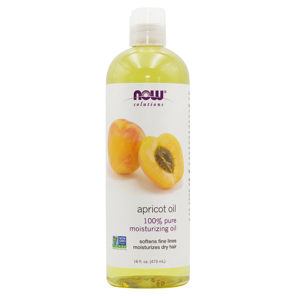 Now Solutions Apricot Oil 473ml