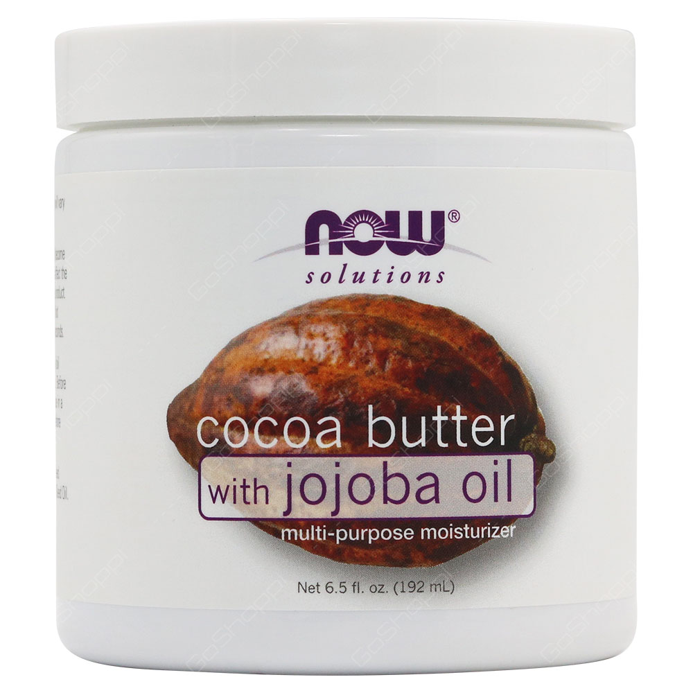 Now Solutions Cocoa Butter With Jojoba Oil Multi Purpose Moisturizer 192ml