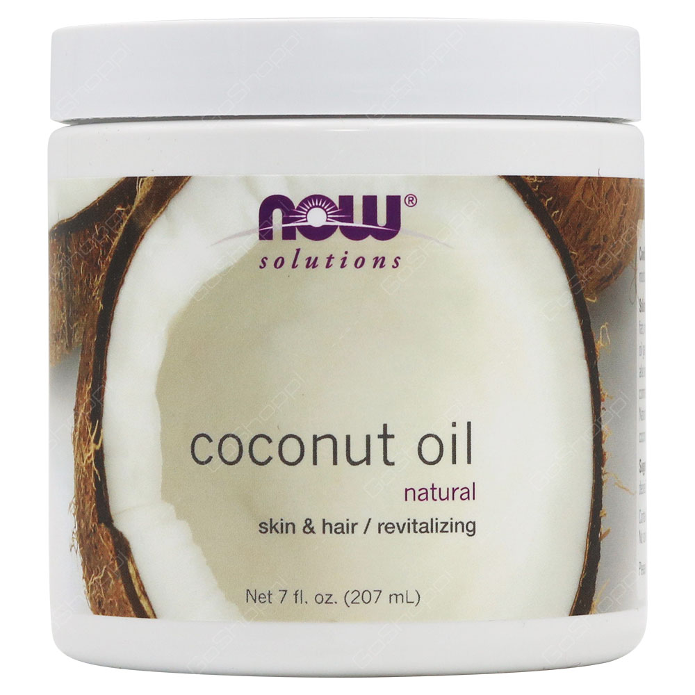 Now Solutions Natural Coconut Oil 207ml