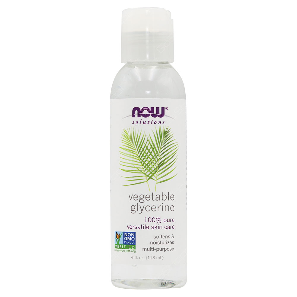 Now Solutions Vegetable Glycerine 118ml