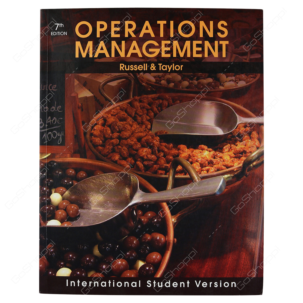 Operations Management Creating Value Along The Supply Chain By Roberta S. Russell