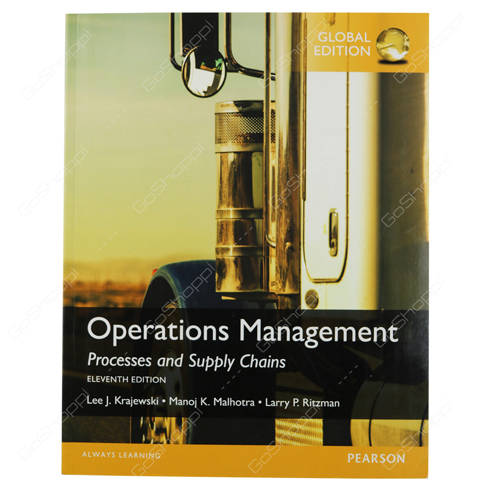 Operations Management Processes And Supply Chains Global Edition By Frederic S. Mishkin