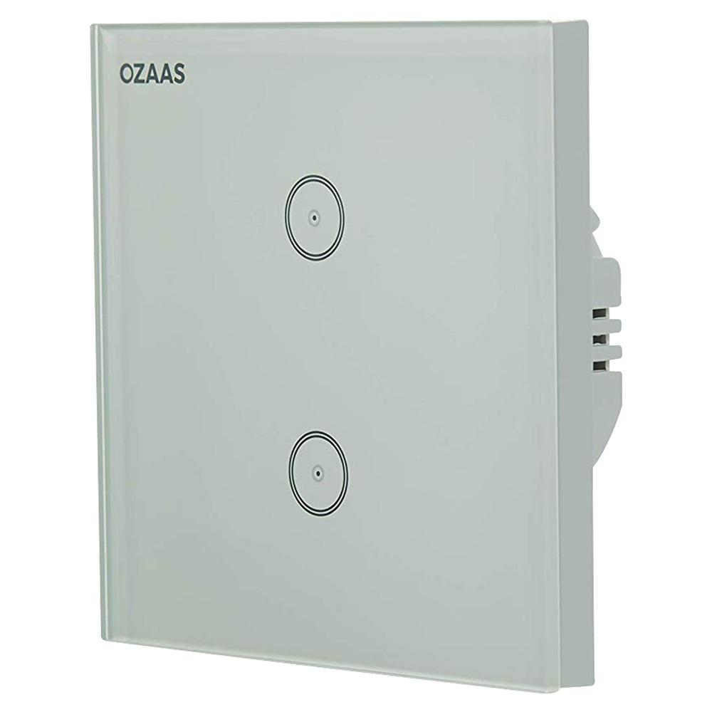 Ozaas Smart Wall Switch 2 Gang - US/UK - OZ-D1XSW-UK-2G