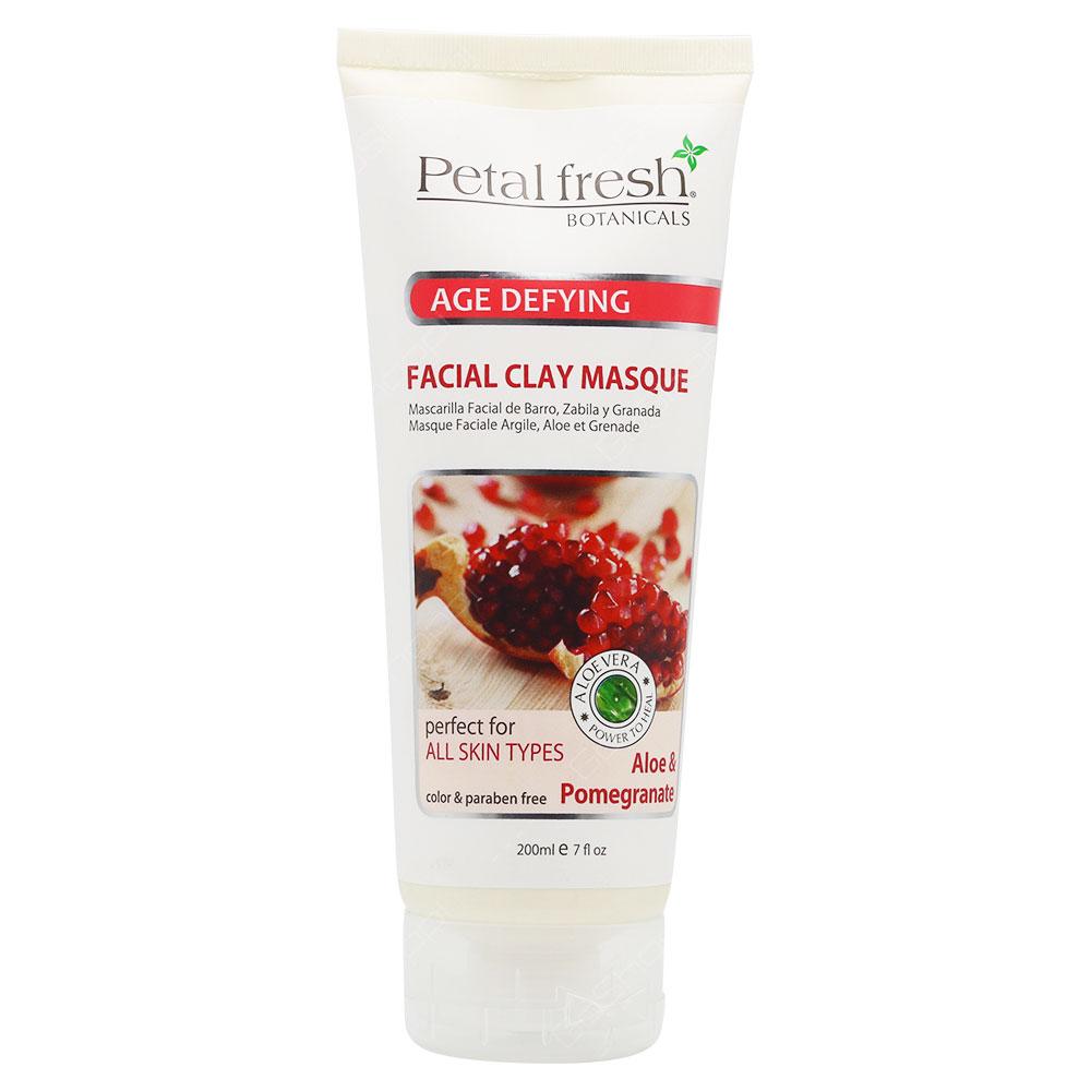 Petal Fresh Botanicals Age Defying Facial Clay Masque Aloe & Pomegranate 200ml