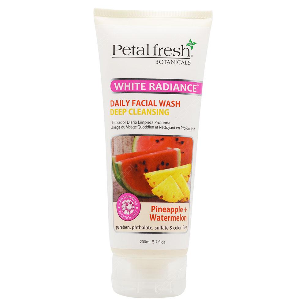 Petal Fresh Botanicals White Radiance Facial Daily Wash 200ml