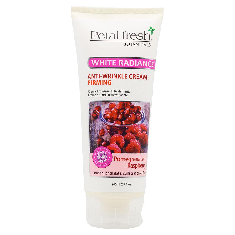 Petal Fresh Botanicals White Radiance Firming Anti Wrinkle Cream 200ml