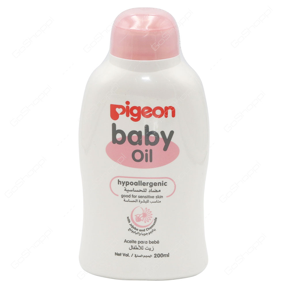 Pigeon Baby Oil Hypoallergenic Good For Sensitive Skin 200 ml