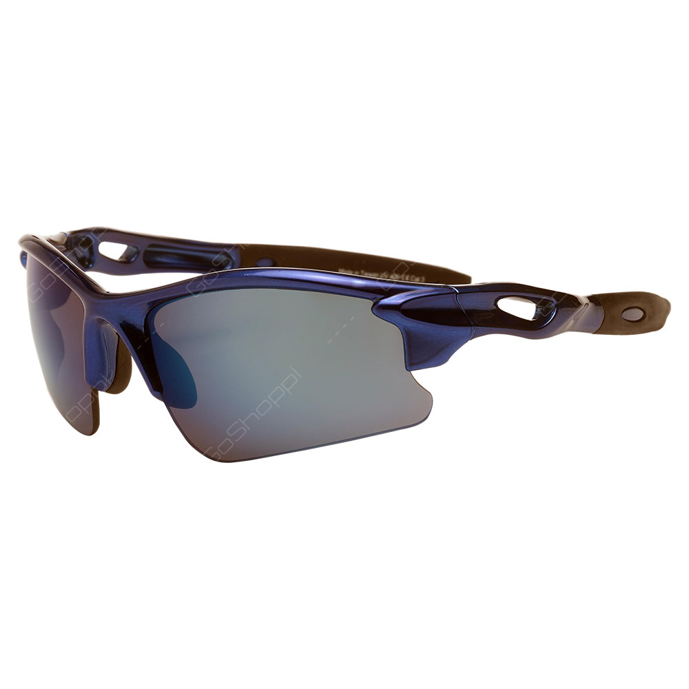 Real Kids Shades Blaze PC Sunglasses For Unisex Above 7 Years - Royal