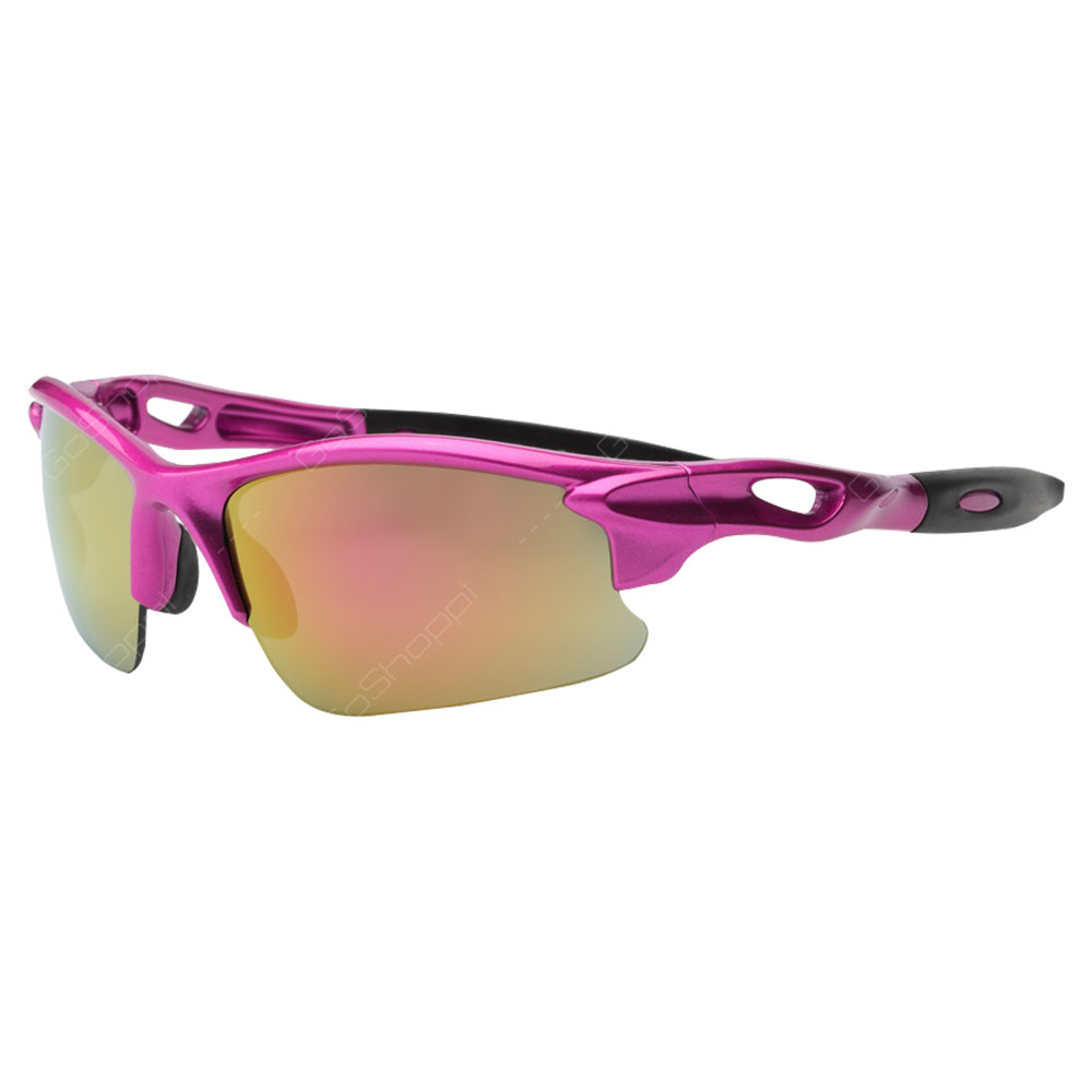 Real Kids Shades Blaze Polarized Sunglasses For Girls Above 7 Years - Pink