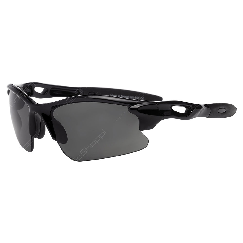 Real Kids Shades Blaze Polarized Sunglasses For Unisex Above 7 Years - Black