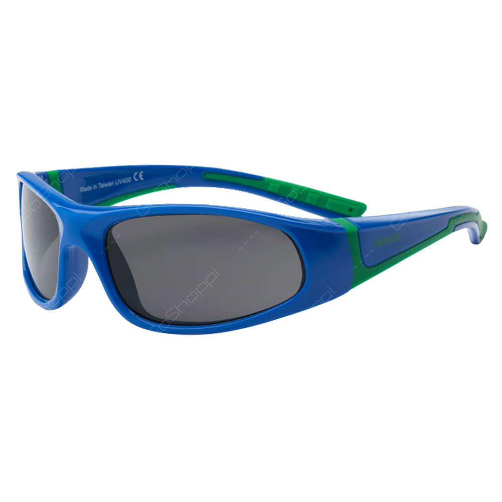 Real Kids Shades Bolt PC Sunglasses For Boys Age 4 to 6 - Royal
