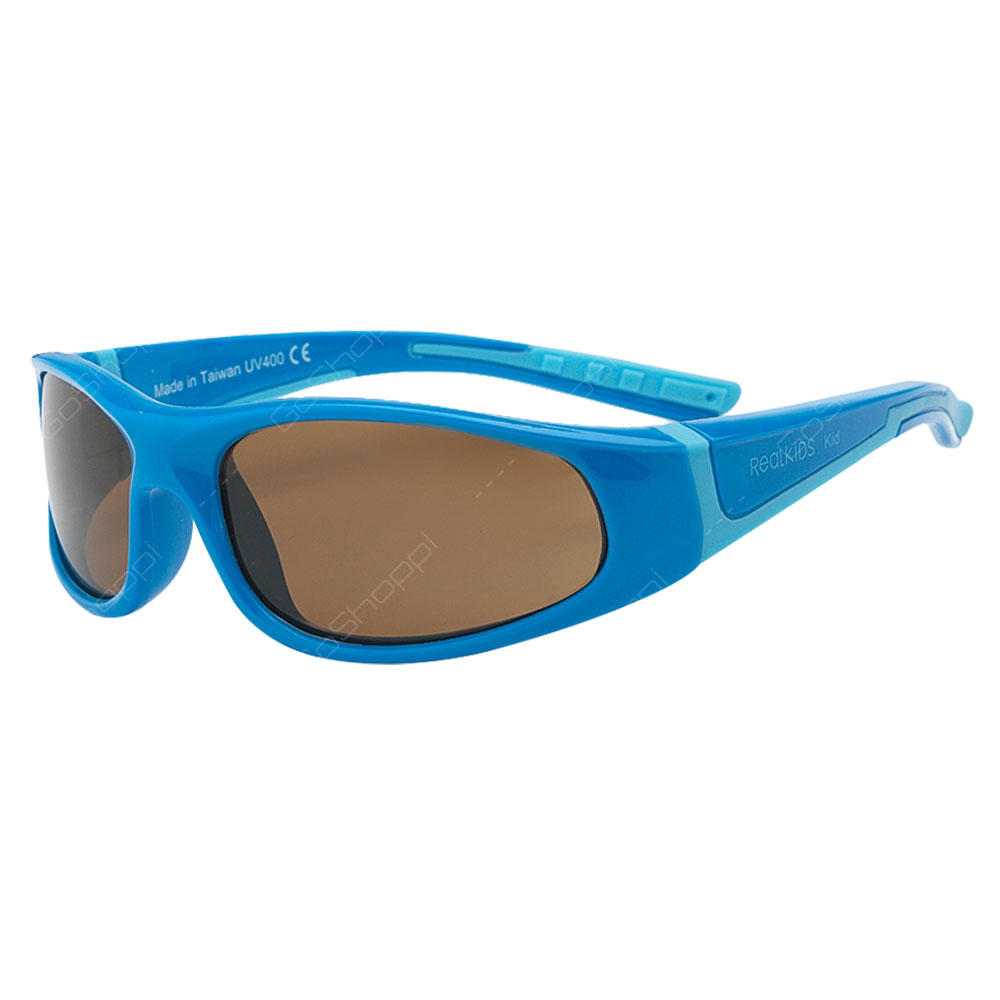 Real Kids Shades Bolt Polarized Sunglasses For Boys Age 4 to 6 - Blue