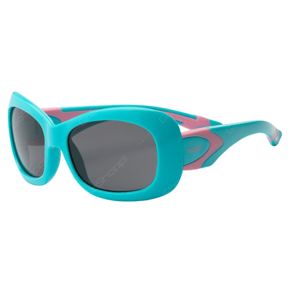 Real Kids Shades Breeze PC Sunglasses For Girls Age 4 to 6 - Aqua