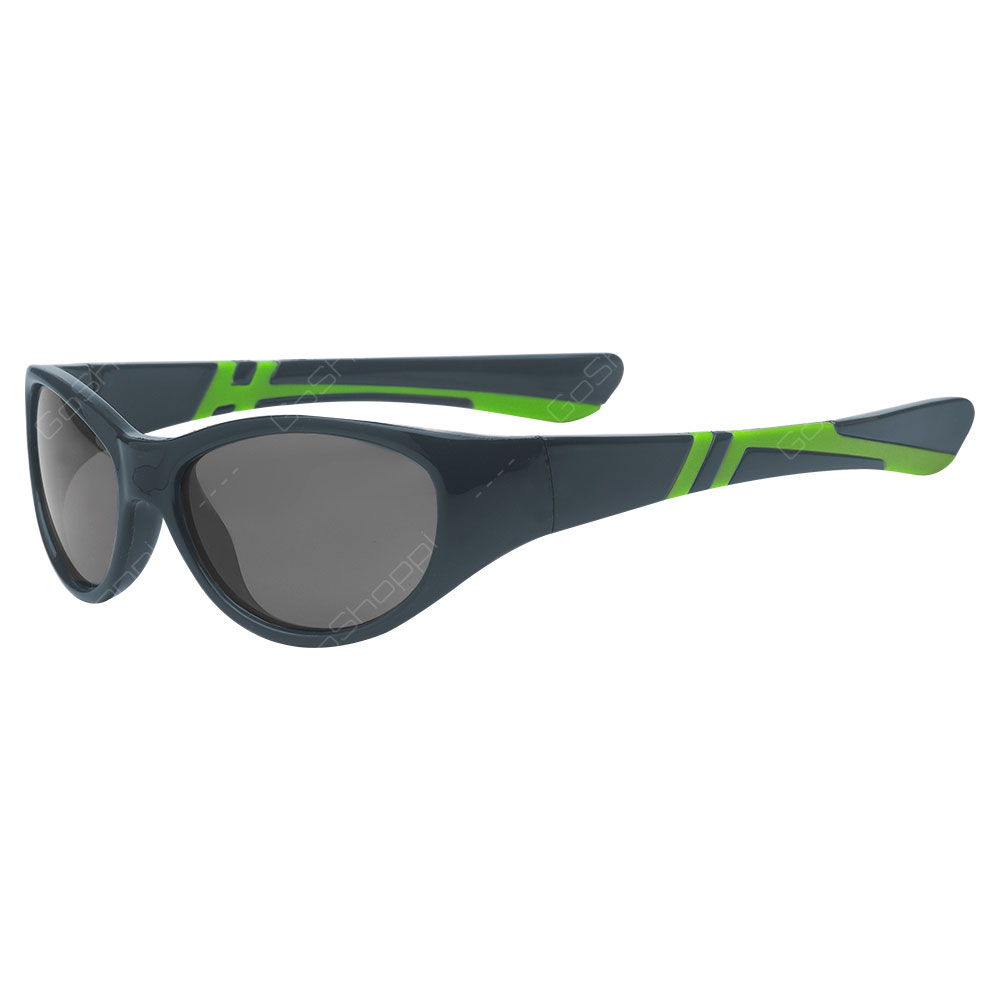 Real Kids Shades Discover PC Sunglasses For Boys Age 2 to 4 - Graphite