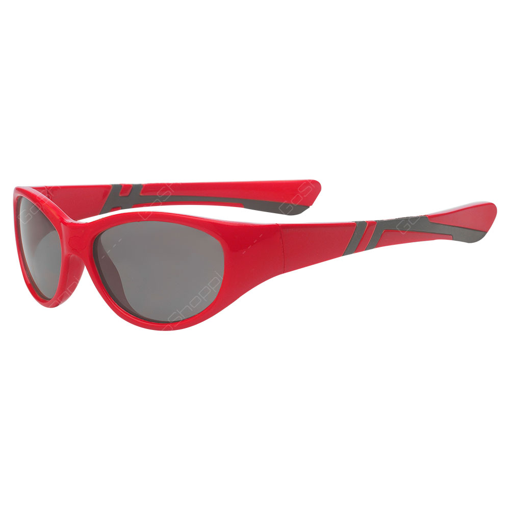 Real Kids Shades Discover PC Sunglasses For Boys Age 2 to 4 - Red