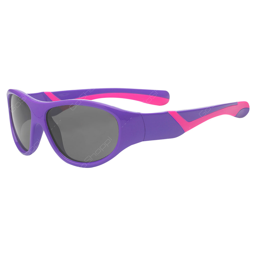 Real Kids Shades Discover Polarized Sunglasses For Girls Age 2 to 4 - Purple