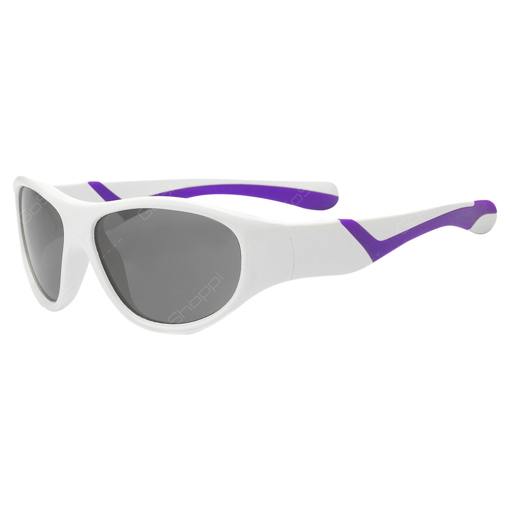 Real Kids Shades Discover Polarized Sunglasses For Girls Age 2 to 4 - White