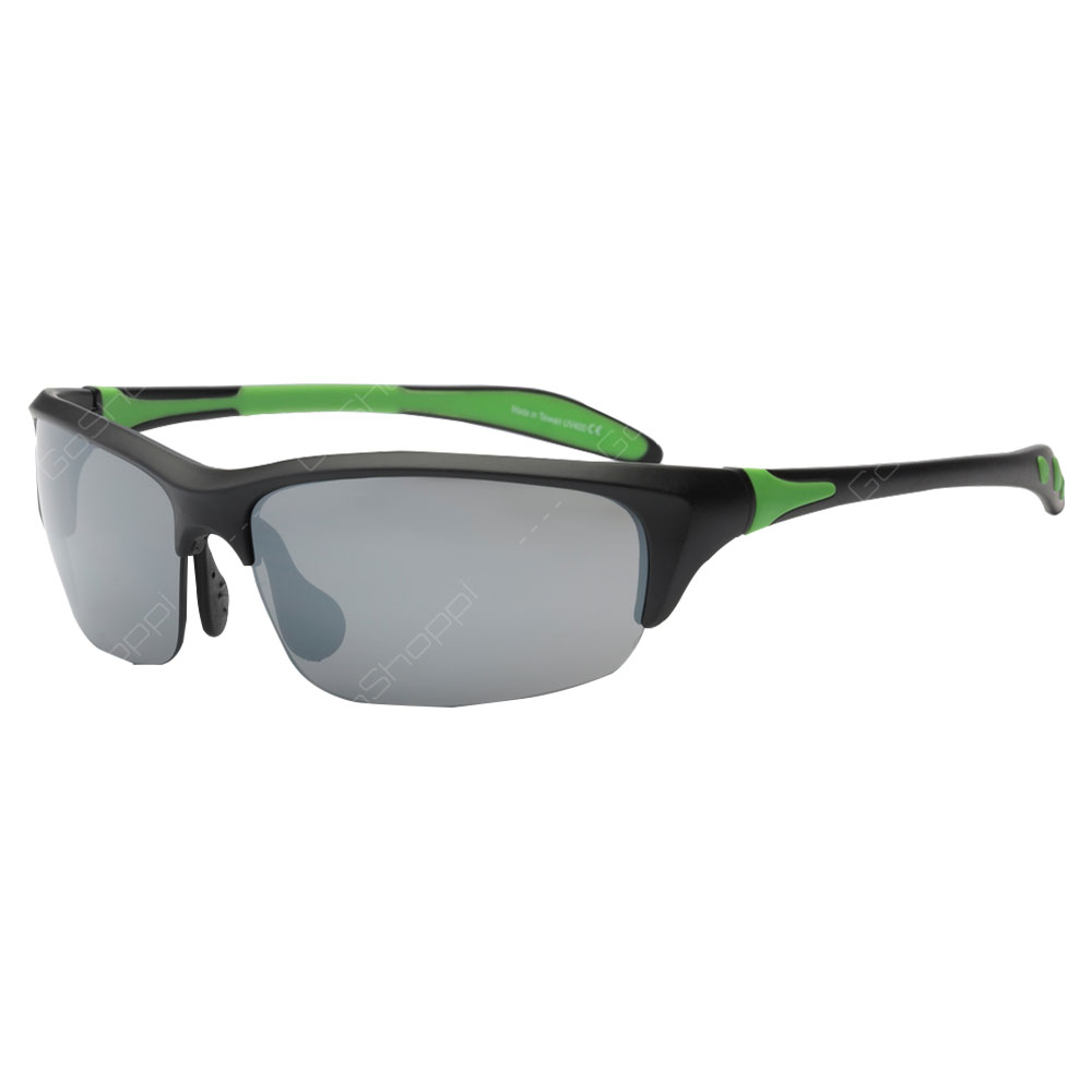Real Shades Blade Polarized Sunglasses For Adults - Black