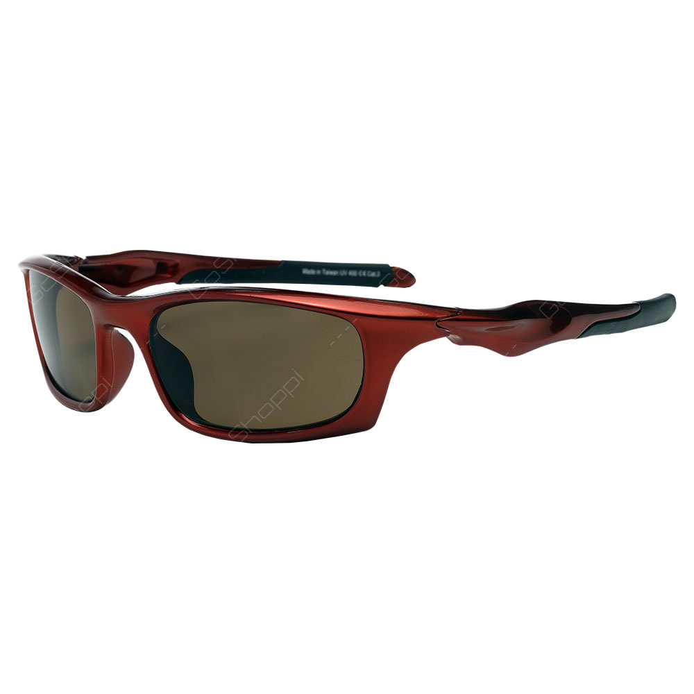 Real Shades Storm Polarized Sunglasses For Adults - Red