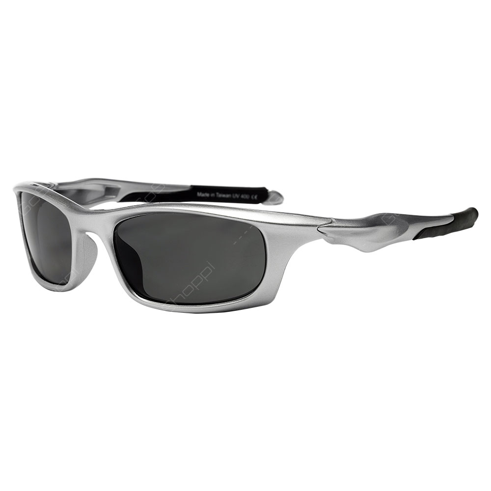 Real Shades Storm Polarized Sunglasses For Adults - Silver