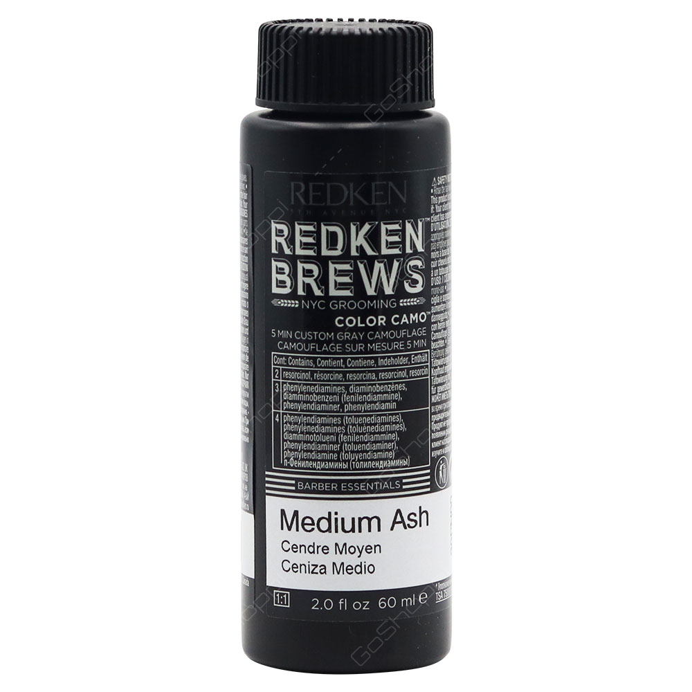 Redken Brews Color Camo Medium Ash 60ml