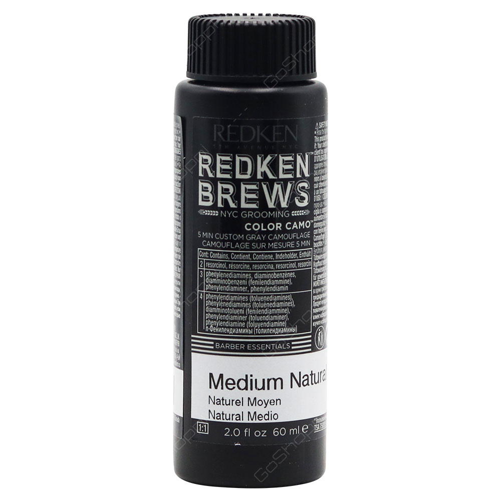 Redken Brews Color Camo Medium Natural 60ml