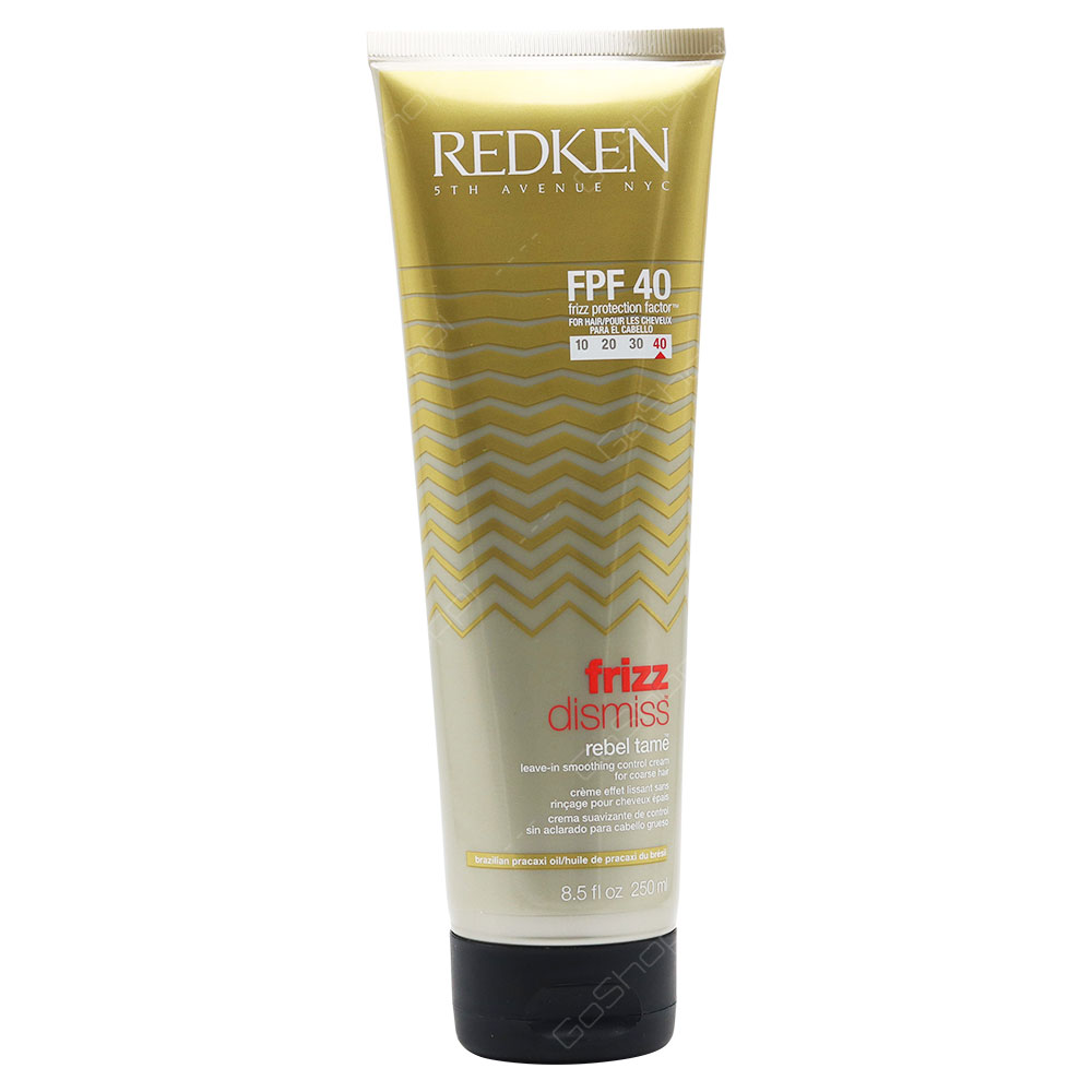 Redken Frizz Dismiss FPF 40 Rebel Tame leave-In Smoothing Control Cream 250ml