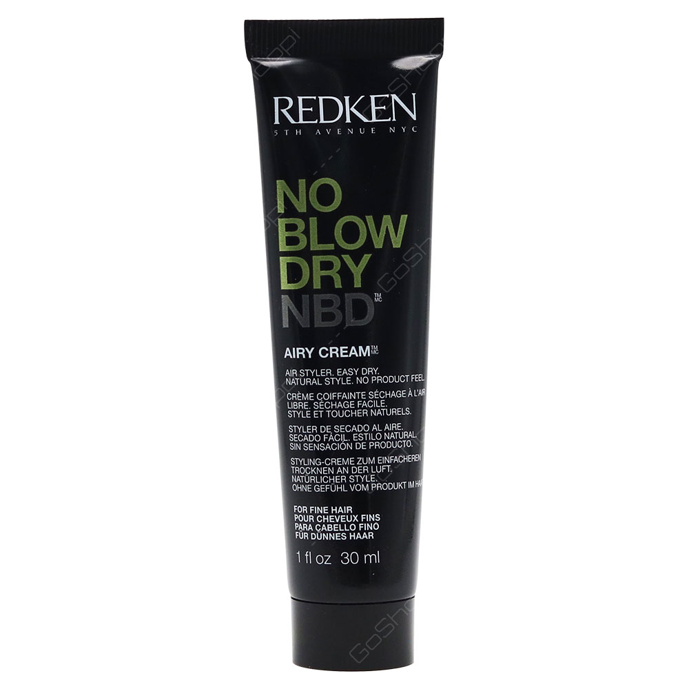 Redken No Blow Dry Airy Cream 30ml