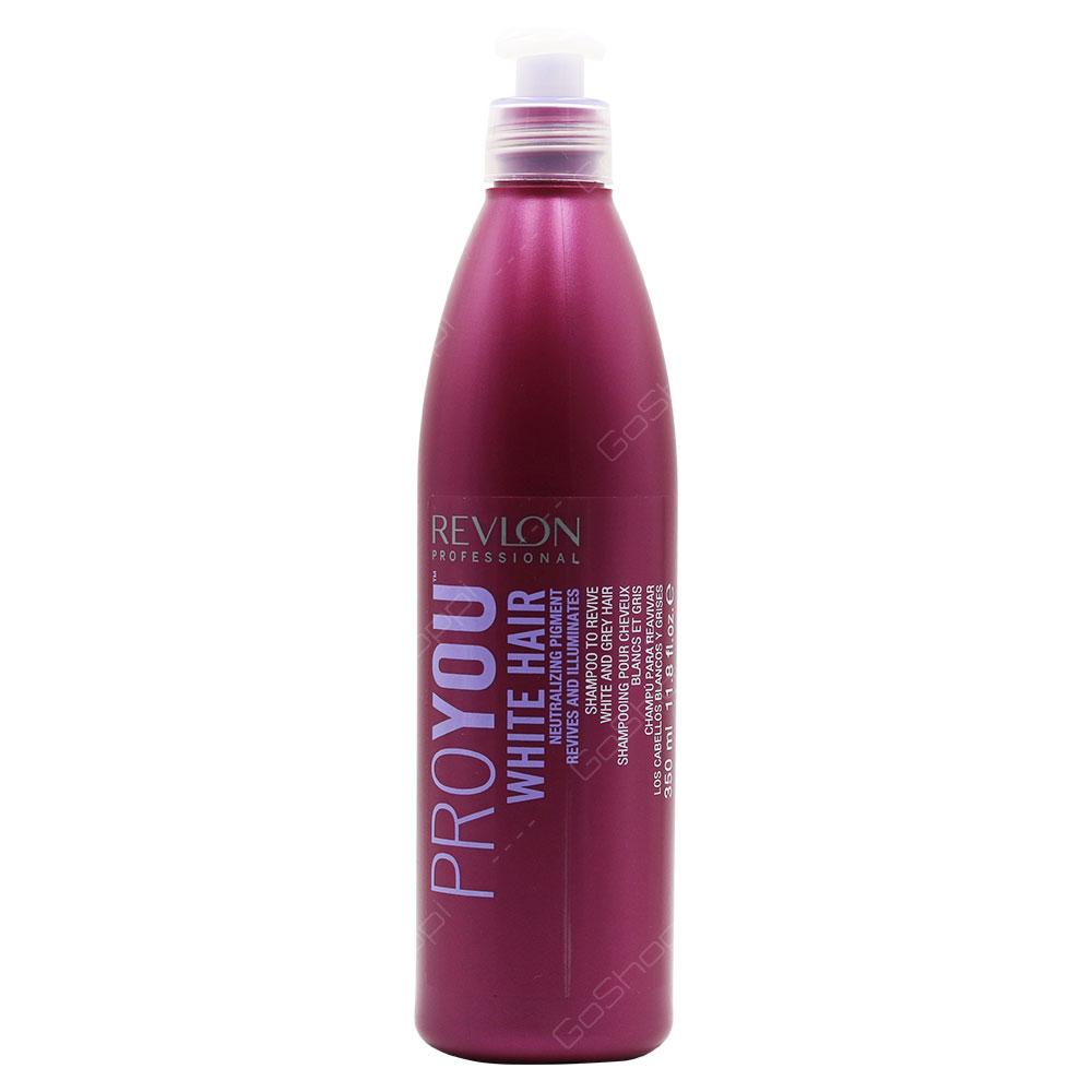 Revlon Professional Pro You White Hair Shampoo 350ml