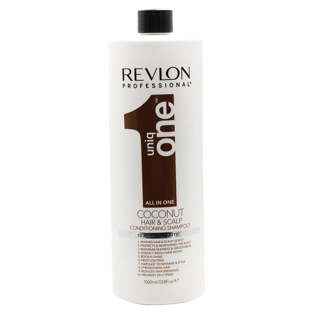 Revlon Uniq One All In One Coconut Hair & Scalp Conditioning Shampoo 1000ml