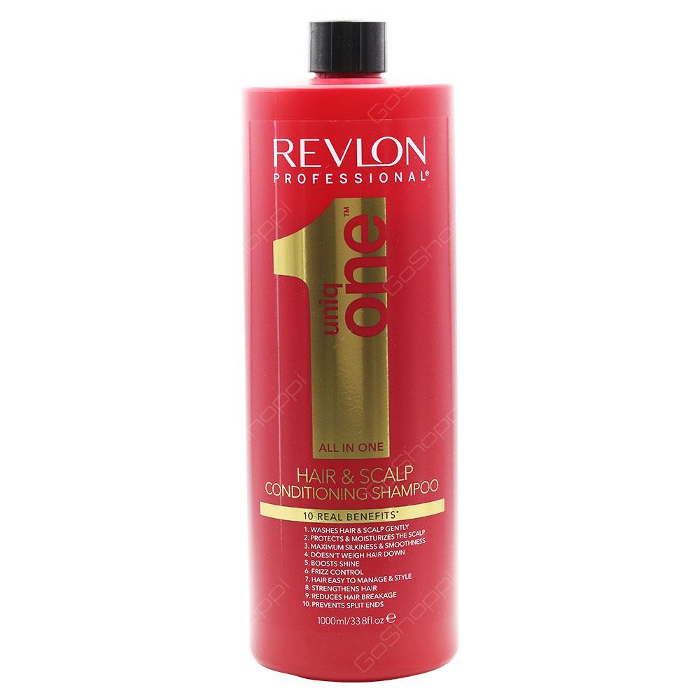 Revlon Uniq One All In One Hair & Scalp Conditioning Shampoo 1000ml