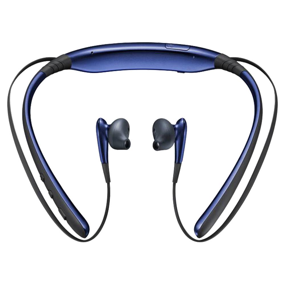 Samsung Level U Bluetooth Headset - Blue - Black - BG920BBEGWW