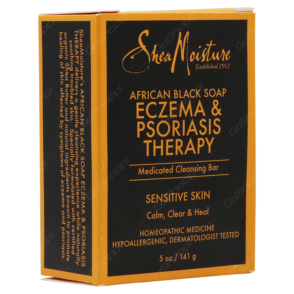 Shea Moisture African Black Soap Eczema & Psoriasis Therapy 141g