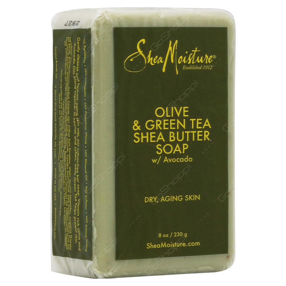 Shea Moisture Olive & Green Tea Shea Butter Soap 230g