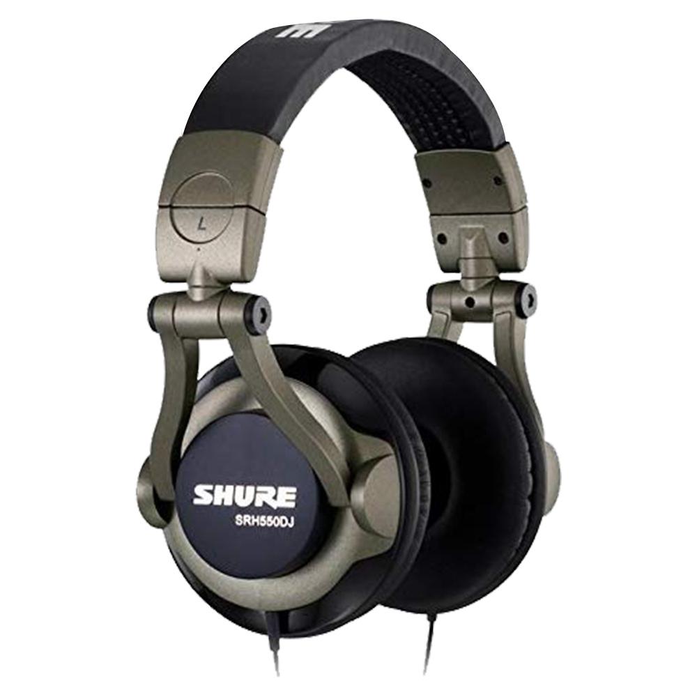Shure Professional Quality Dj Headphones - SRH550DJE