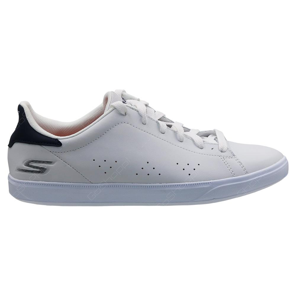 agujero Derivación estudiar  Skechers Go Vulc 2 Shoes For Women - White - Navy - 14550WNV - Buy Online