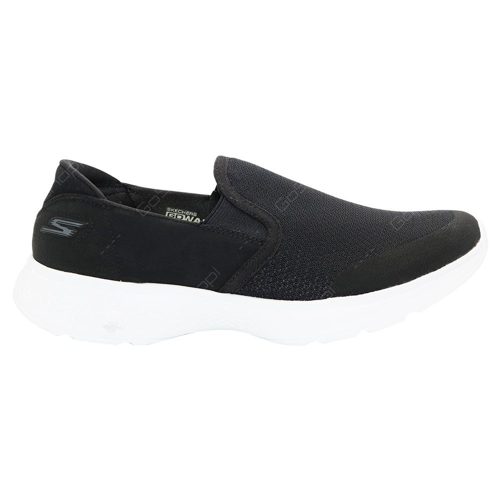 Men White Walking For Black Skechers Shoes Go Walk Contain 4 DHbeW29YEI