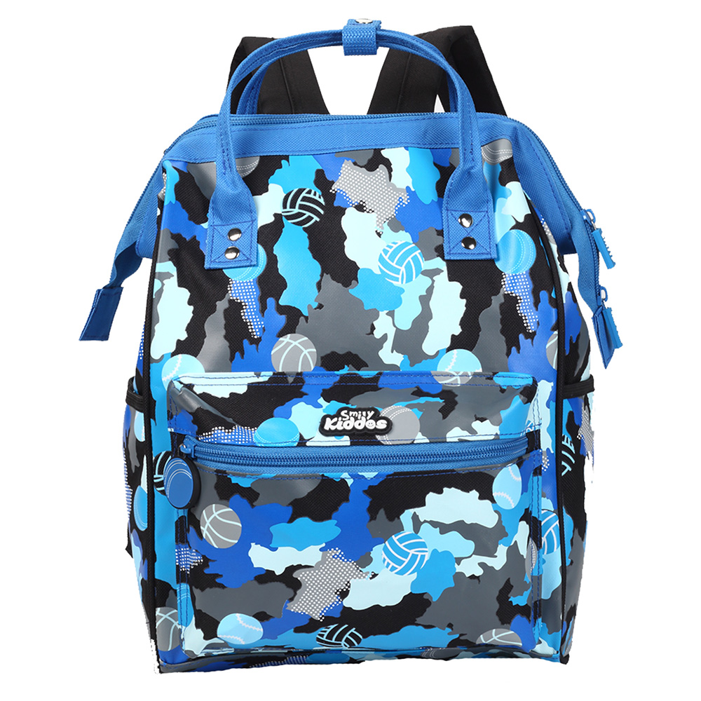 Smily Casual Backpack - Blue