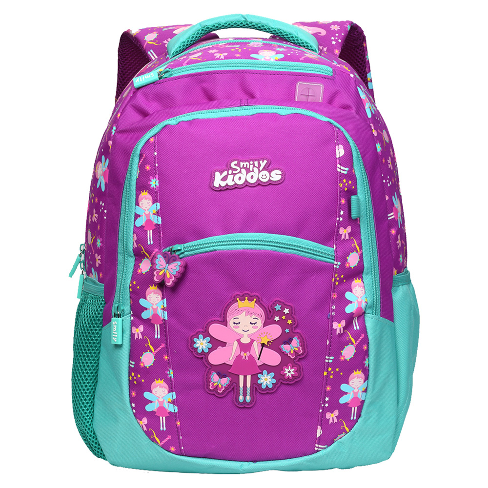 Smily Dual Color Backpack - Purple