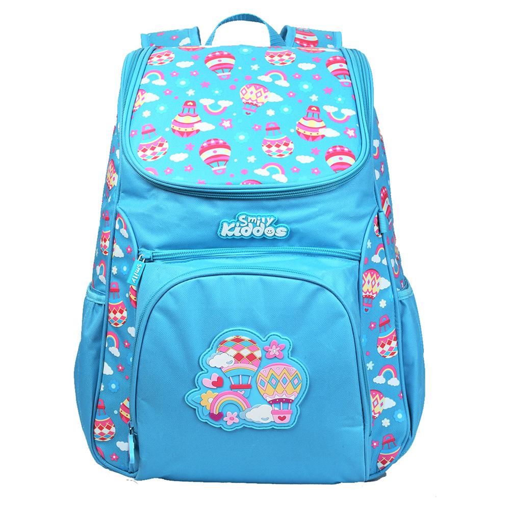 "Smily ""U"" Shape Backpack - Light Blue"