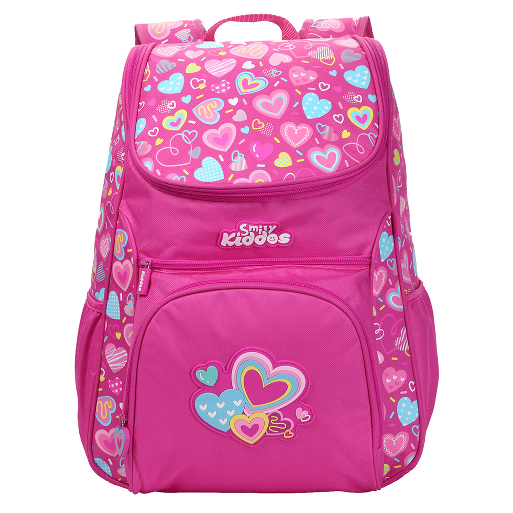"Smily ""U"" Shape Backpack - Pink"