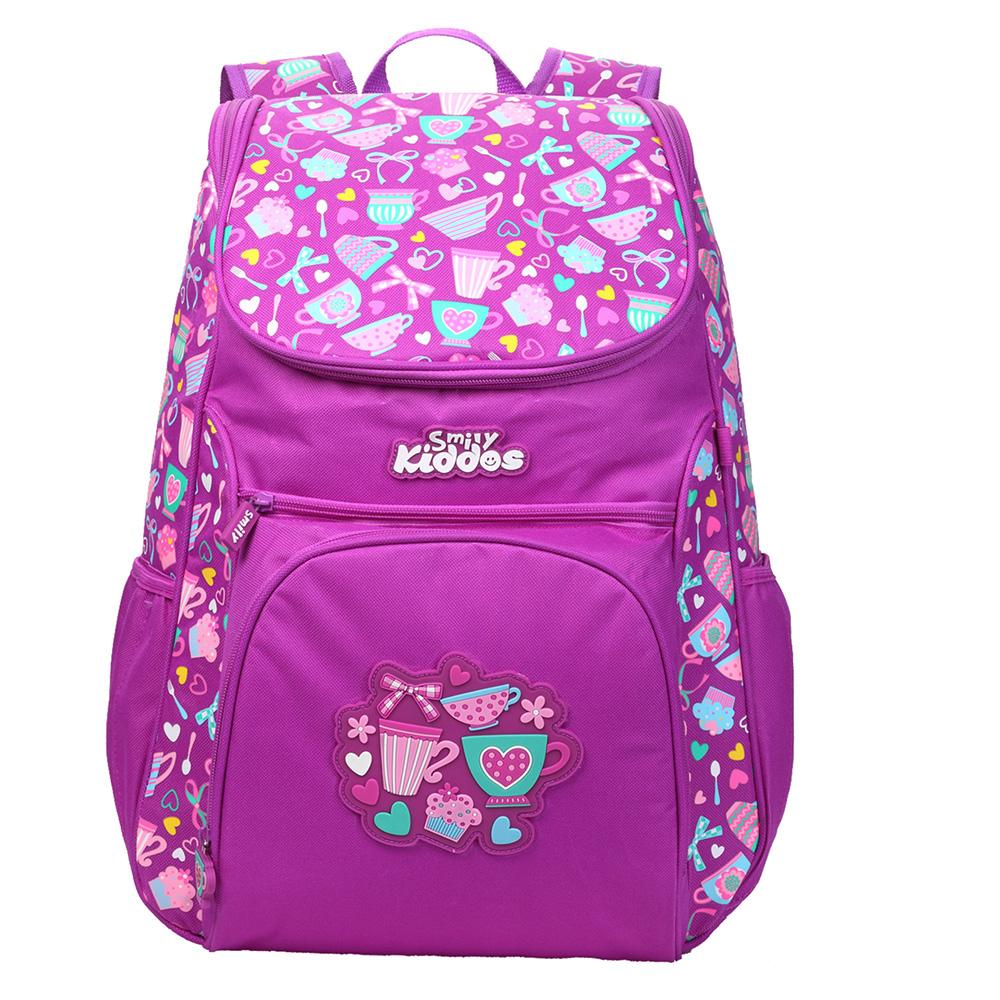 """Smily """"U"""" Shape Backpack - Purple"""