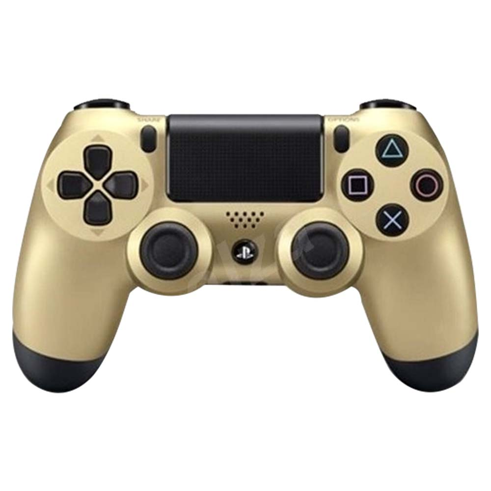 Sony PS4 New Dual Shock 4 Wireless Controller - Gold - CUHZCT2EGOLD