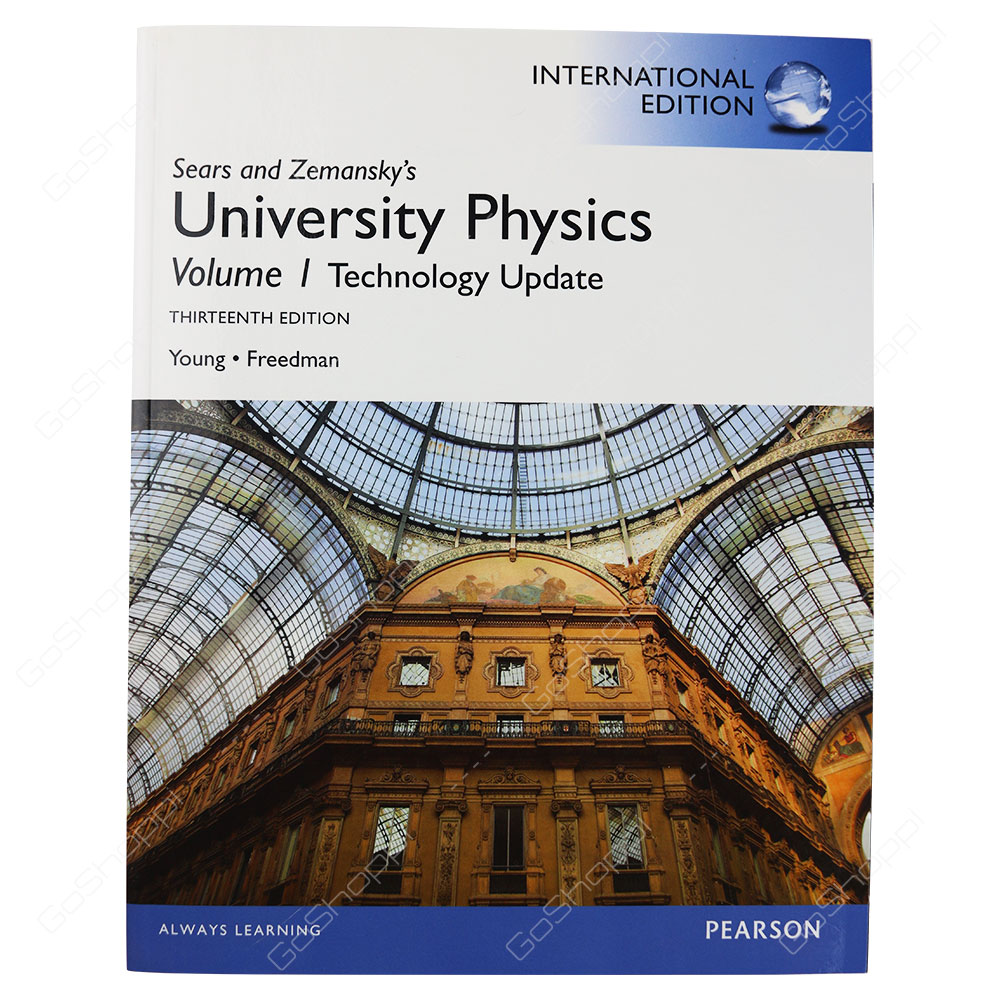 University Physics Volume 1 Technology Update 13th Edition By Roger A. Freedman