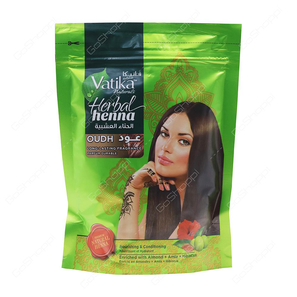 Vatika Herbal Henna Oudh 200 G Buy Online