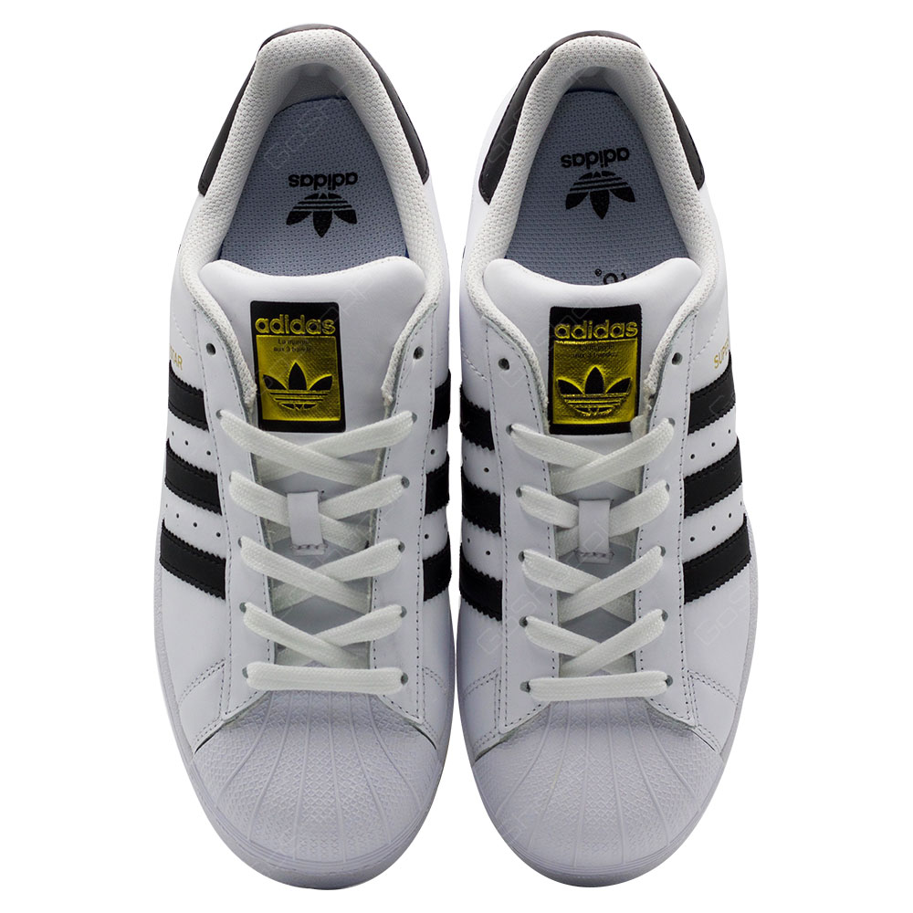 ... Adidas Originals Superstar J Shoes For Kids - White - Black - C77154 ... 24eb0e036