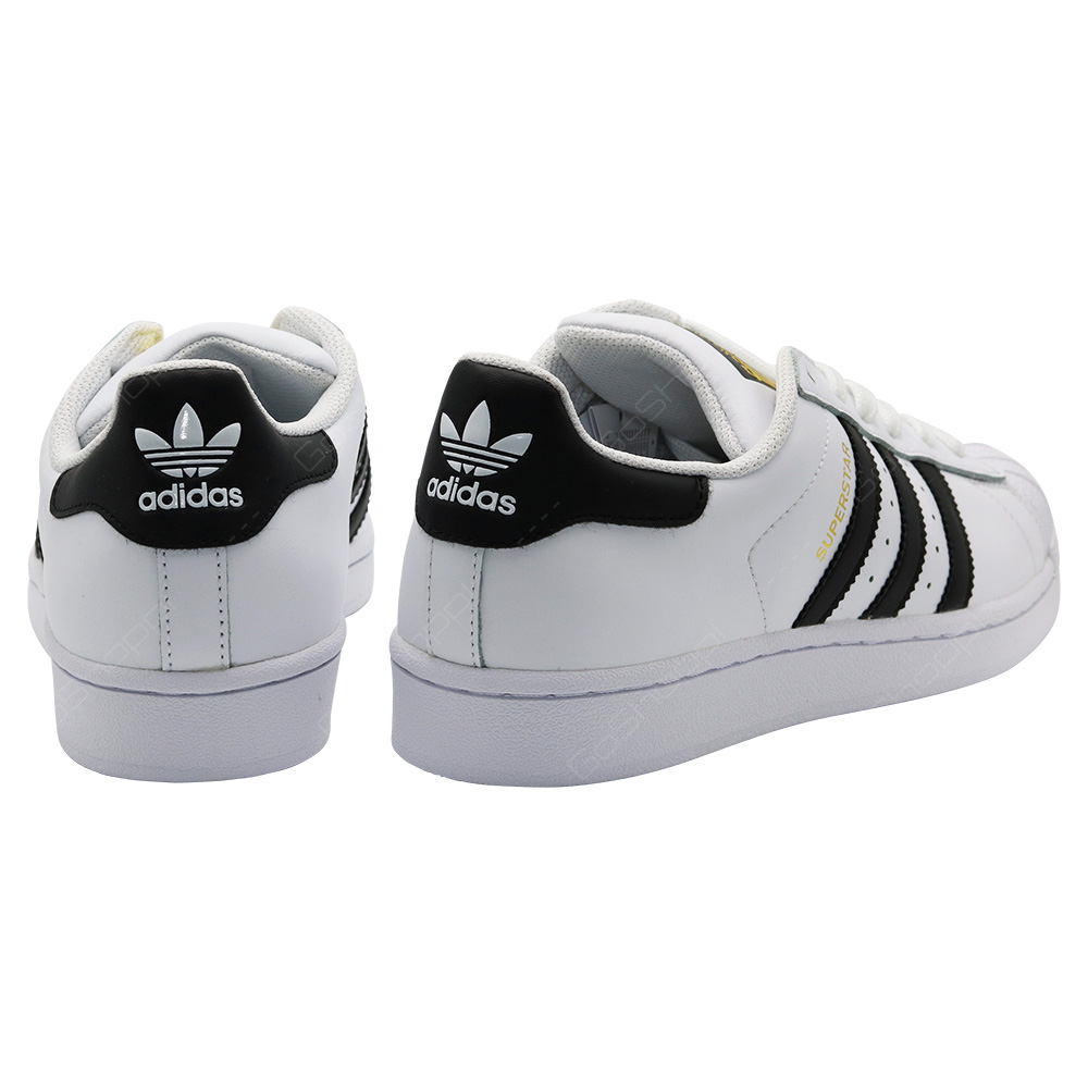 Adidas Originals Superstar J Shoes For Kids - White - Black - C77154 ... b894c3ee3