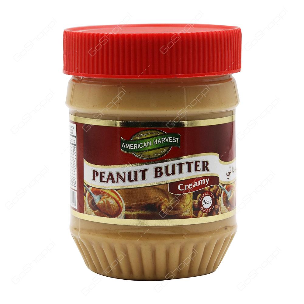 52c0df52511b American Harvest Peanut Butter Creamy 340 g - Buy Online